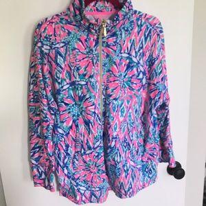 Lilly Pulitzer Zip Up Jacket
